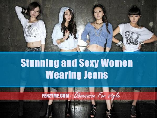 Sexy Women Wearing Jeans (1)