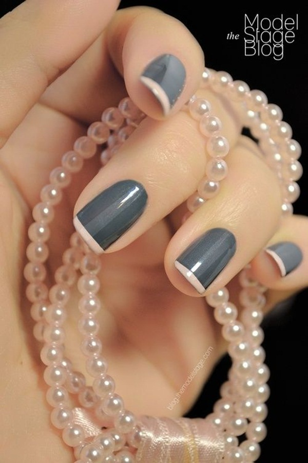 Simple Nail Art Designs for Short Nails (13)
