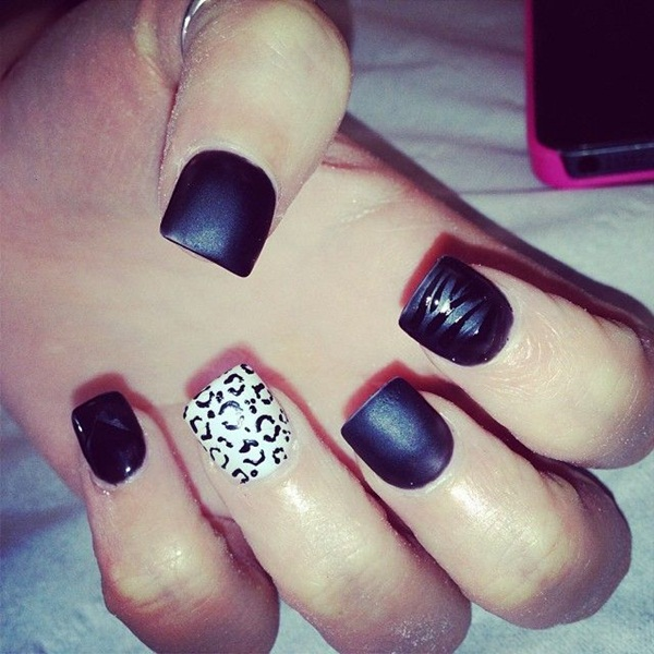 Simple Nail Art Designs for Short Nails (15)