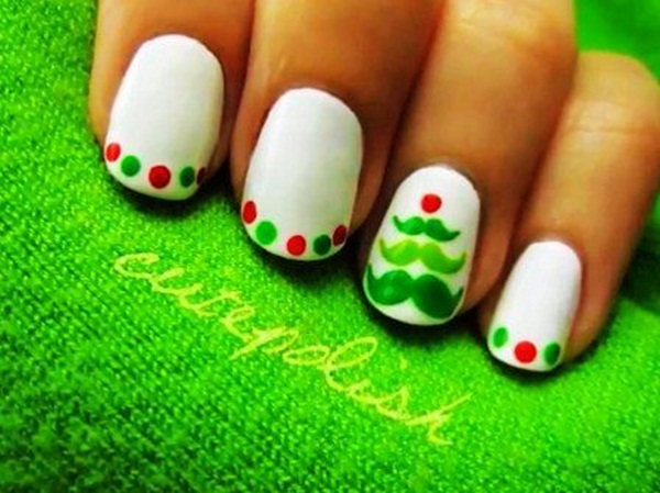 Simple Nail Art Designs for Short Nails (28)