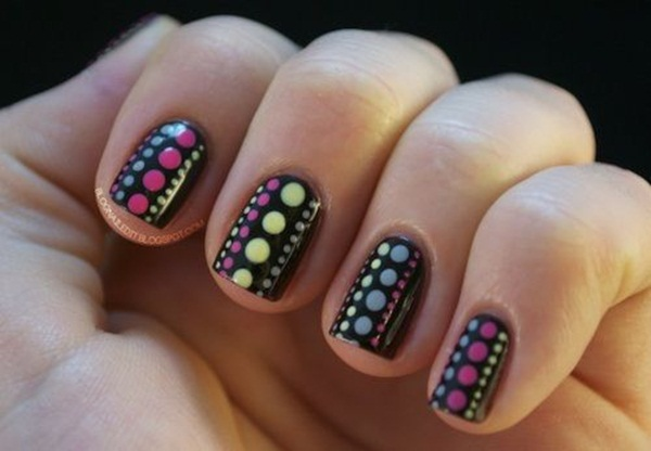 Simple Nail Art Designs for Short Nails (38)