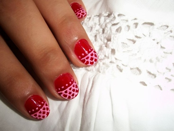 Simple Nail Art Designs for Short Nails (39)