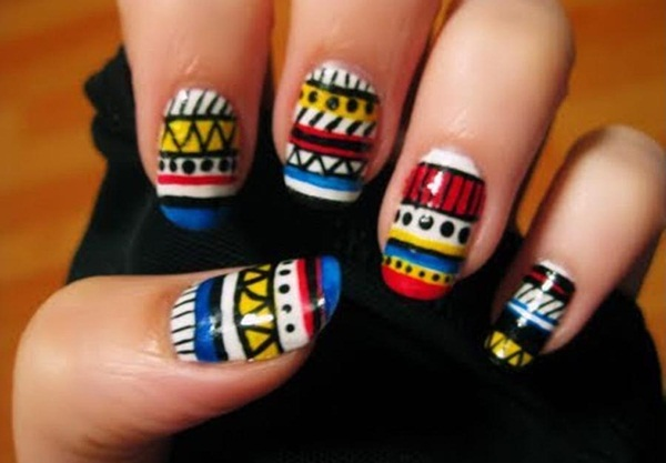 Simple Nail Art Designs for Short Nails (4)