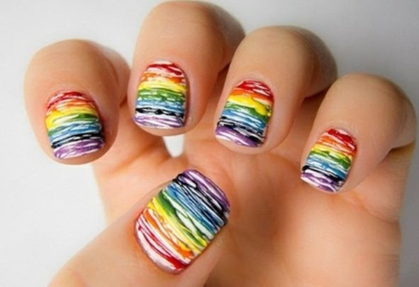 Simple Nail Art Designs for Short Nails (47)