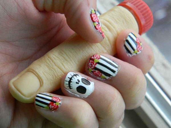 Simple Nail Art Designs for Short Nails (5)