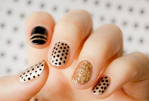 Simple Nail Art Designs for Short Nails (54)