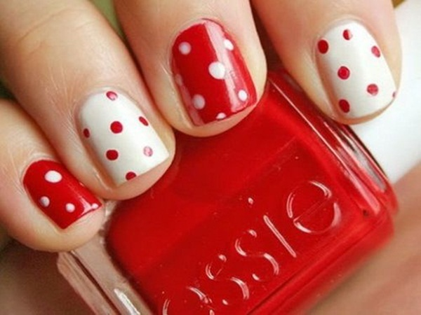 Simple Nail Art Designs for Short Nails (6)