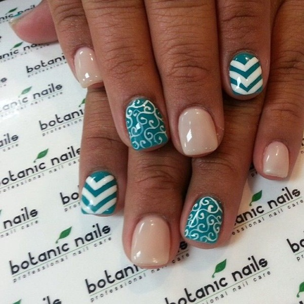 Simple Nail Designs For Short Nails: 55 Simple Nail Art Designs For Short Nails: 2016