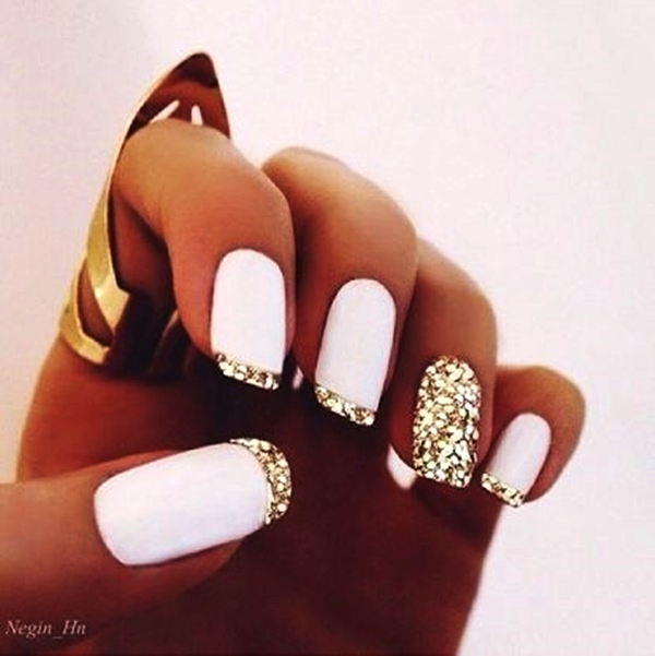 Simple Nail Art Designs for Short Nails1.1