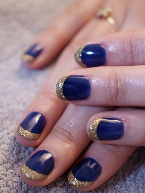 Simple Nail Art Designs for Short Nails1