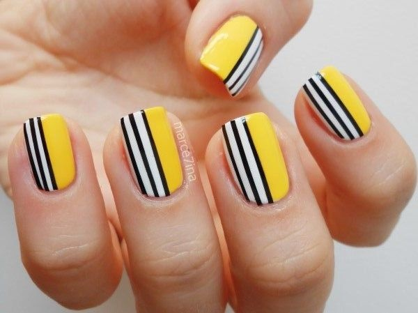 Simple Nail Art Designs for Short Nails10.1