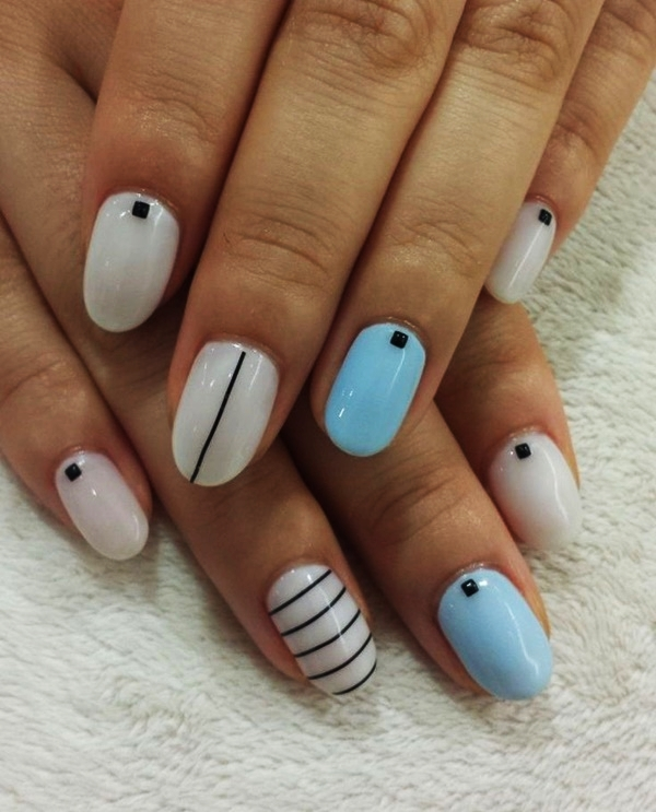 Ideas For Short Nails Easy Nail Art: 55 Simple Nail Art Designs For Short Nails: 2016