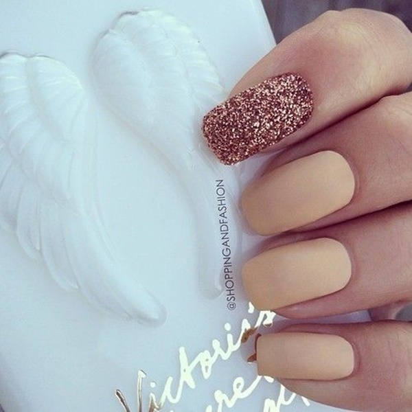 Simple Nail Art Designs for Short Nails16