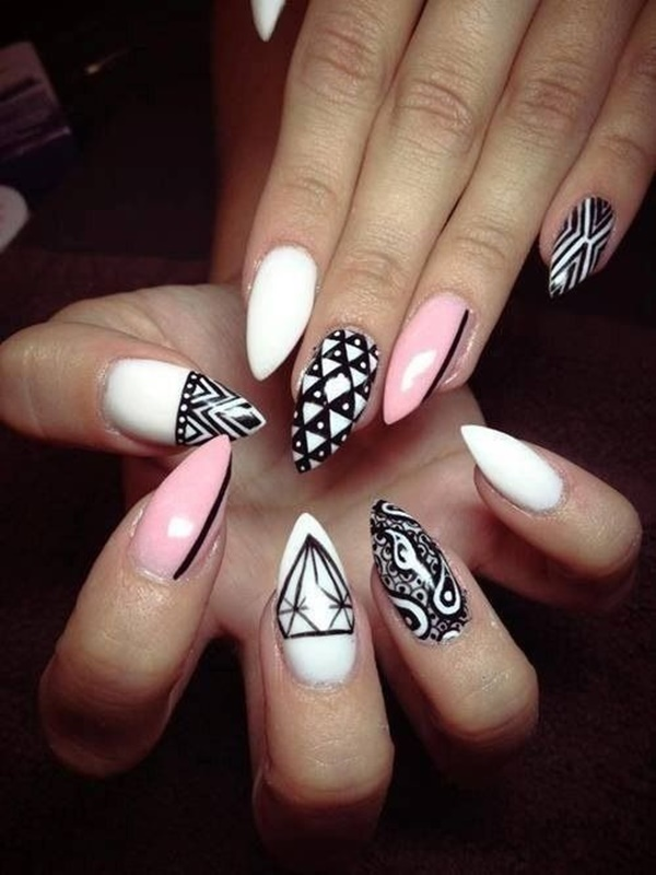 Simple Nail Art Designs for Short Nails18