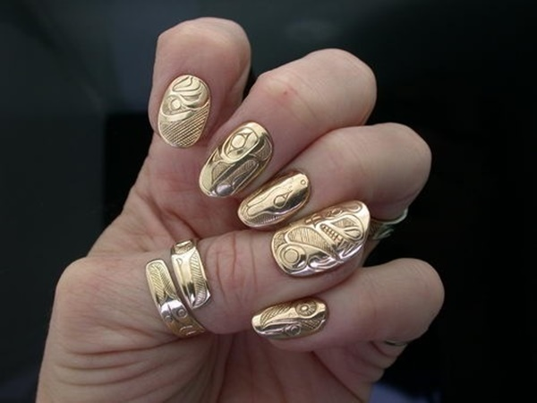 Simple Nail Art Designs for Short Nails4