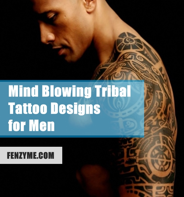 Tribal Tattoo Designs for Men (1)