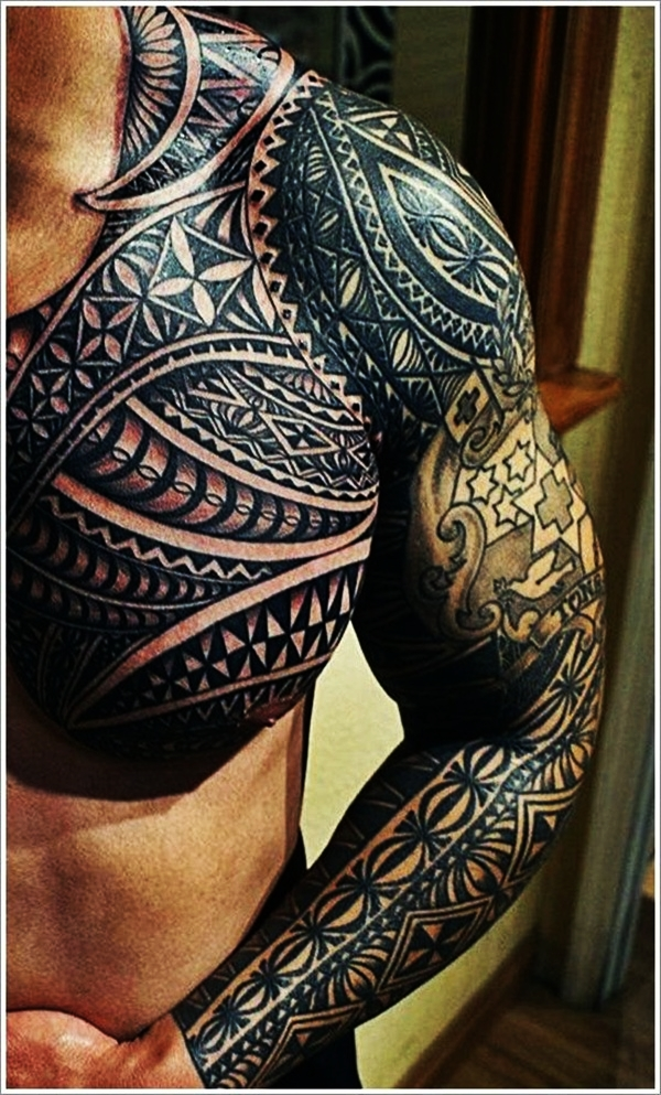 Tribal Tattoo Designs for Men (10)