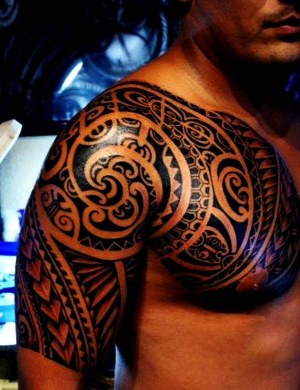 Tribal Tattoo Designs for Men (11)