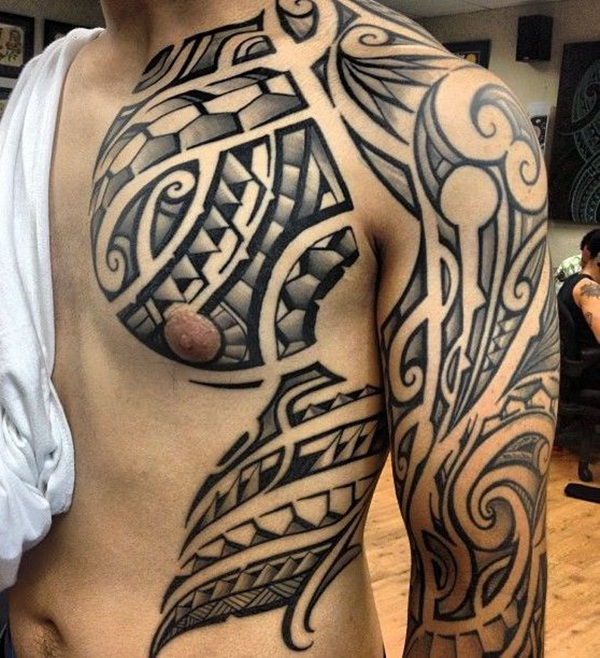 Tribal Tattoo Designs for Men (13)