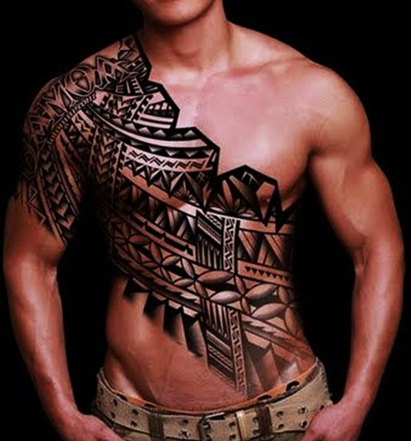 Tribal Tattoo Designs for Men (14)