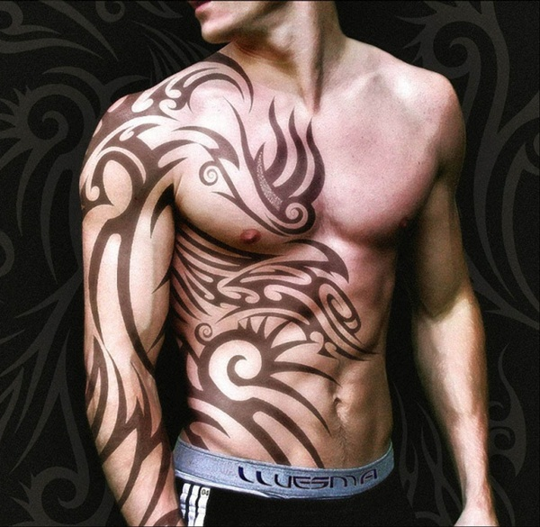 Tribal Tattoo Designs for Men (17)