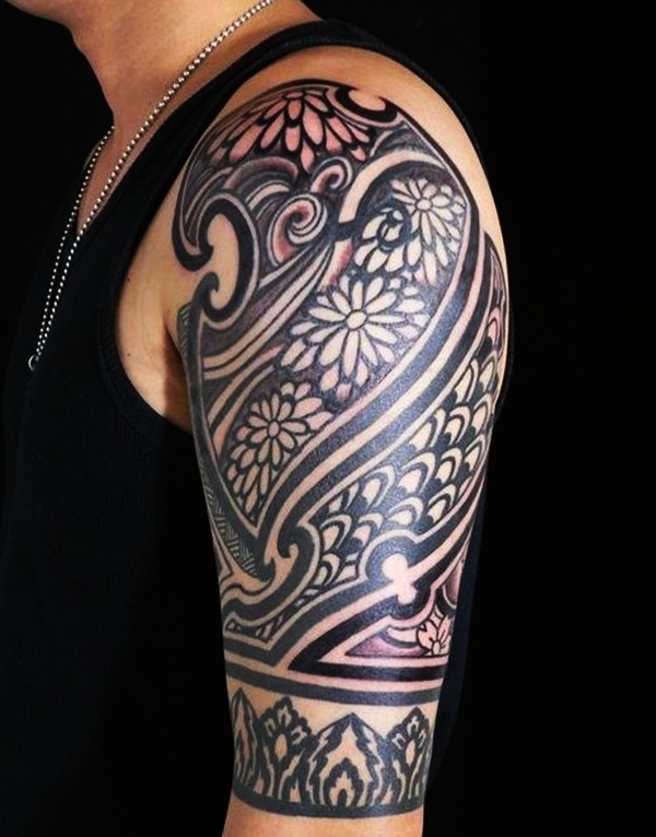 Tribal Tattoo Designs for Men (23)