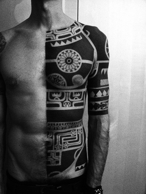 Tribal Tattoo Designs for Men (40)