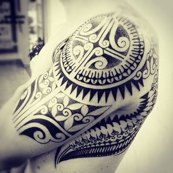 Tribal Tattoo Designs for Men (7)