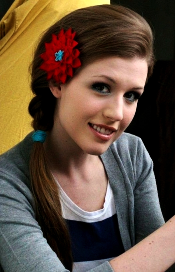 Attractive Side Ponytail Hairstyles for Girls (10)