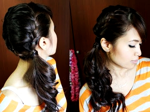 Attractive Side Ponytail Hairstyles for Girls (12)