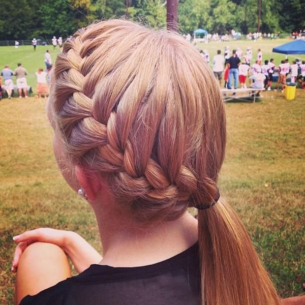 Attractive Side Ponytail Hairstyles for Girls (13)