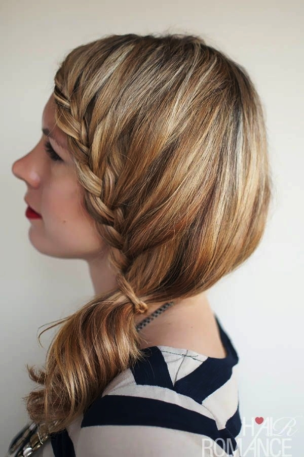 Attractive Side Ponytail Hairstyles for Girls (4)