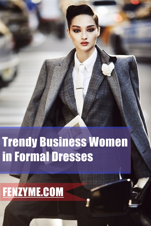 Business Women in Formal Dresses (20)