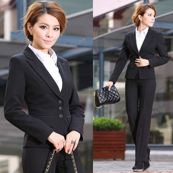 Business Women in Formal Dresses (35)