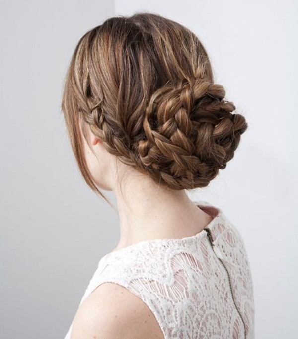 Easy Bun Hairstyles for Women (11)