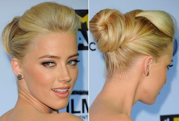 Easy Bun Hairstyles for Women (16)