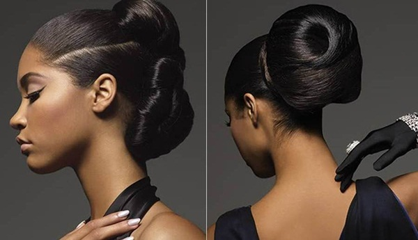 Easy Bun Hairstyles for Women (27)