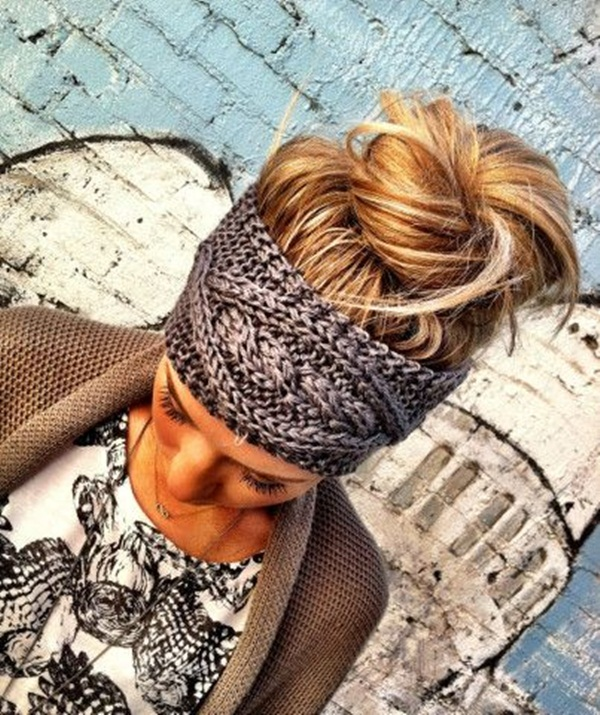 Easy Bun Hairstyles for Women (32)