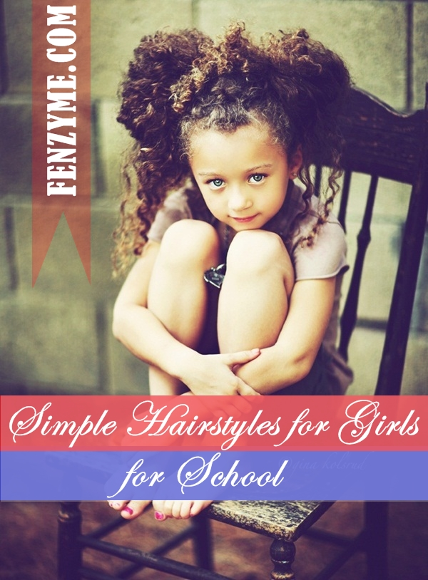 Latest Simple Hairstyles for Girls for School (1)