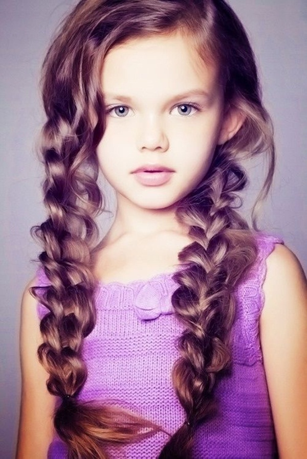 Latest Simple Hairstyles for Girls for School (10)