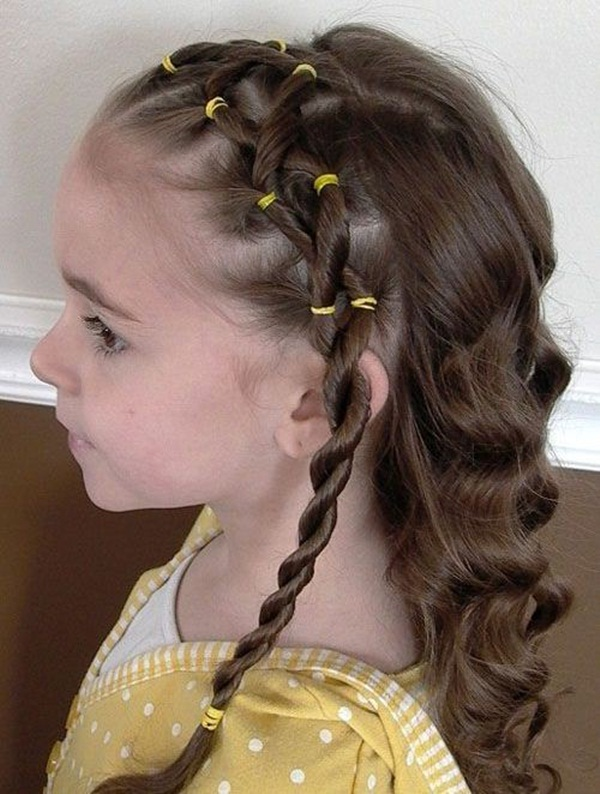 Latest Simple Hairstyles for Girls for School (16)