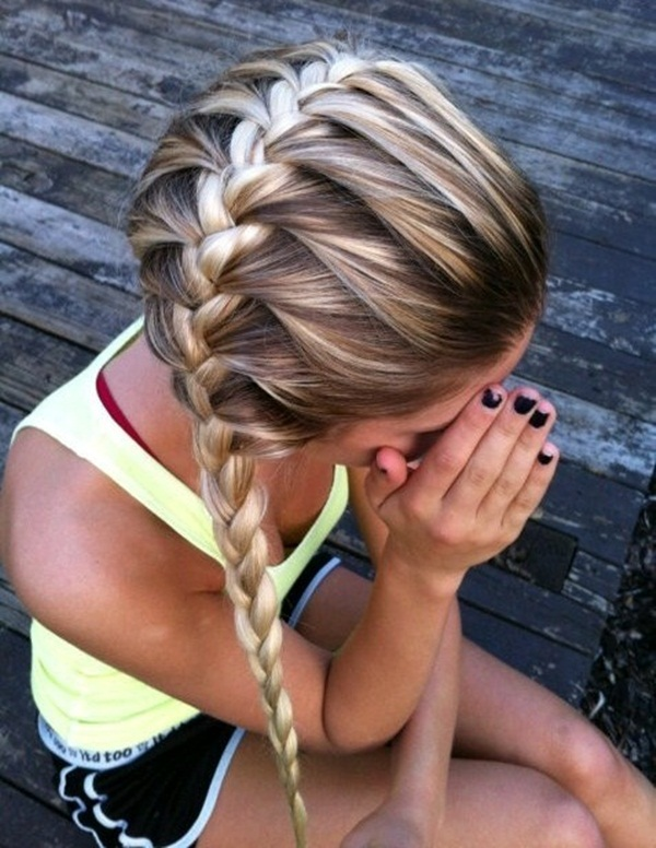 Latest Simple Hairstyles for Girls for School (18)