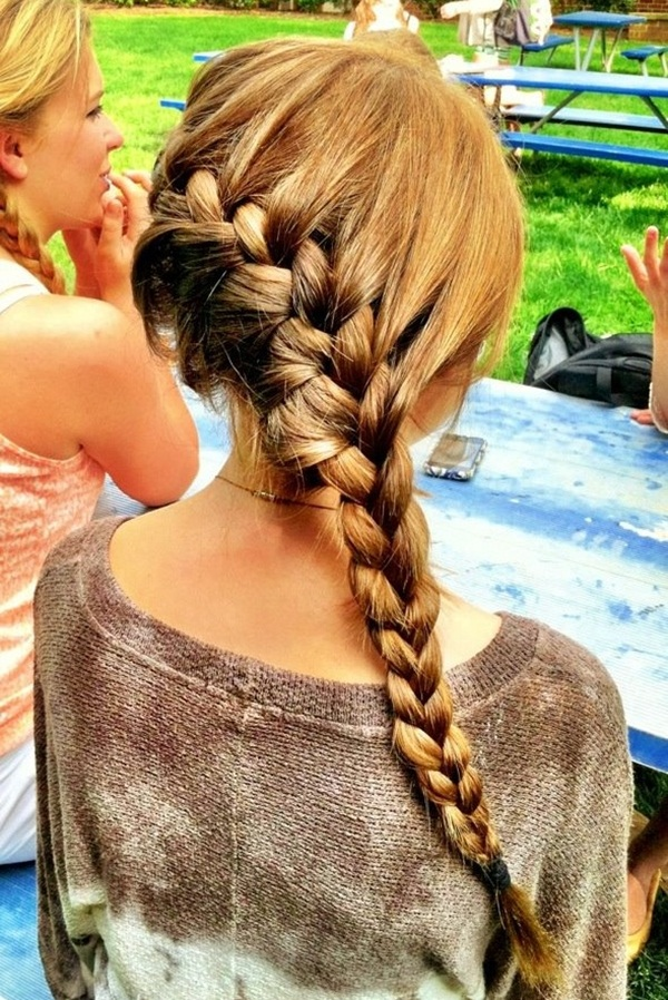 Latest Simple Hairstyles for Girls for School (3)