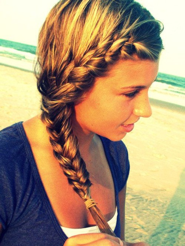 Latest Simple Hairstyles for Girls for School (32)</p srcset=