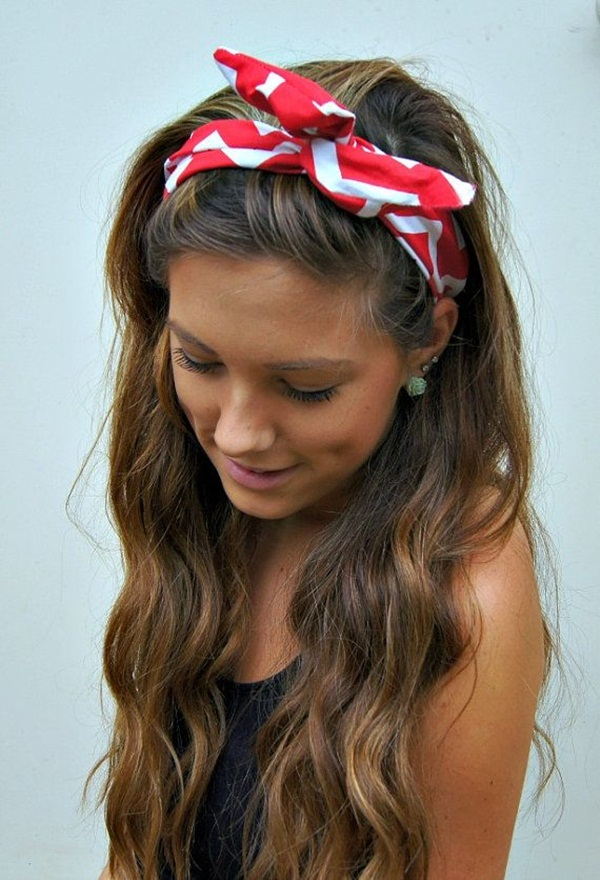 Latest Simple Hairstyles for Girls for School (9)