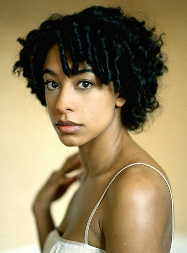 Short Curly Hairstyles for Black Woman (15)