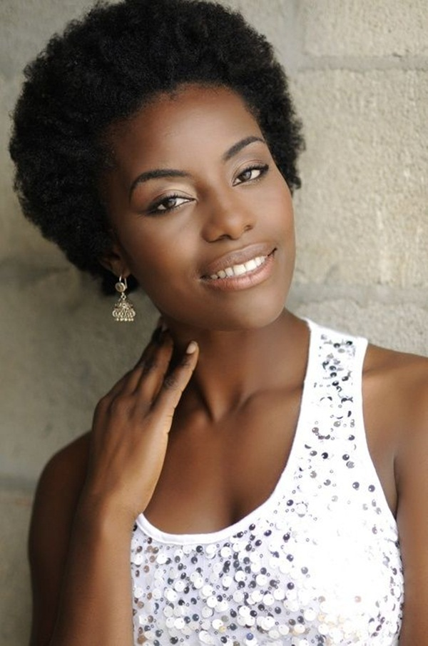Short Curly Hairstyles for Black Woman (19)