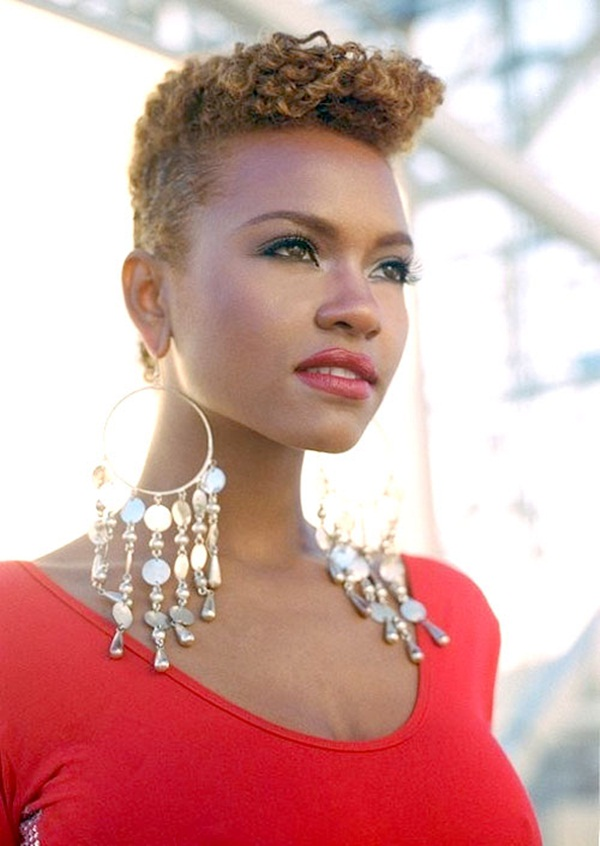 Short Curly Hairstyles for Black Woman (30)