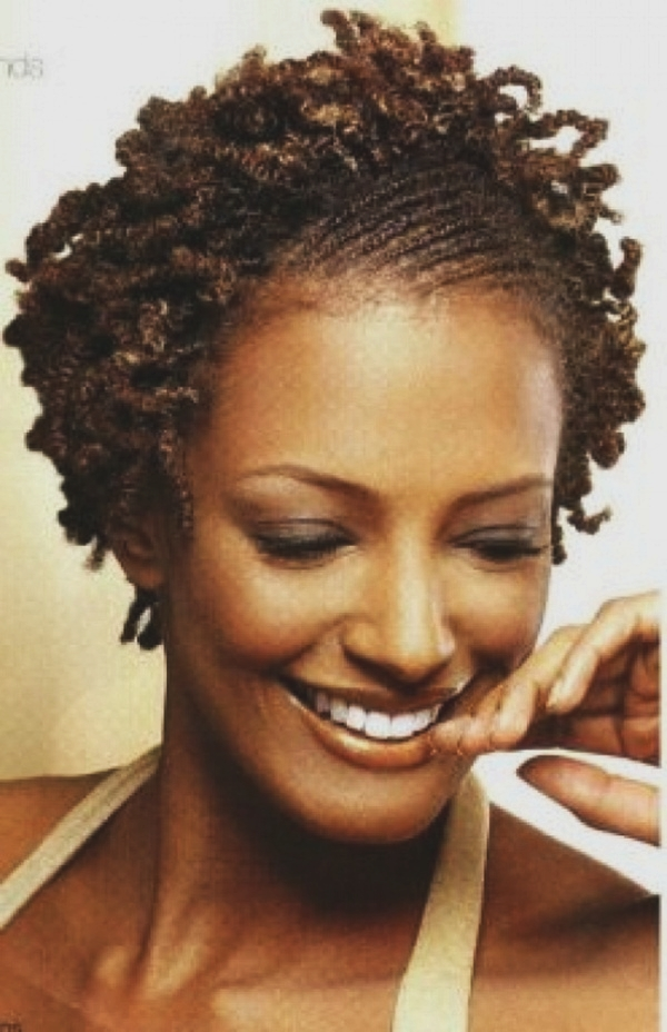 Short Curly Hairstyles for Black Woman (33)