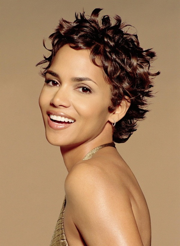 Short Curly Hairstyles for Black Woman (34)